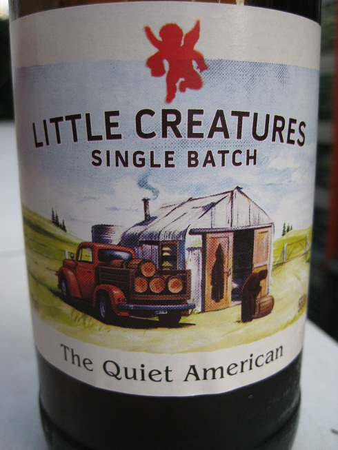 The Quiet American Label